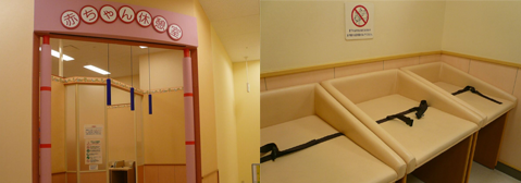 赤ちゃん休憩室画像