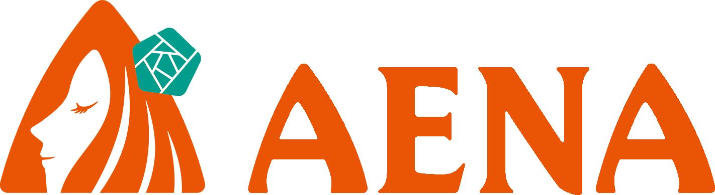 アエナのロゴの画像
