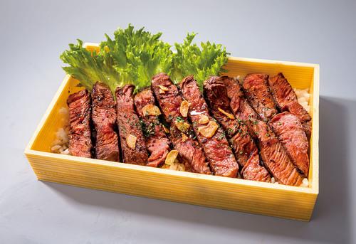 牛ハラミステーキ重