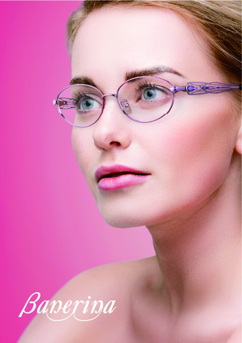 眼鏡 バネリーナ