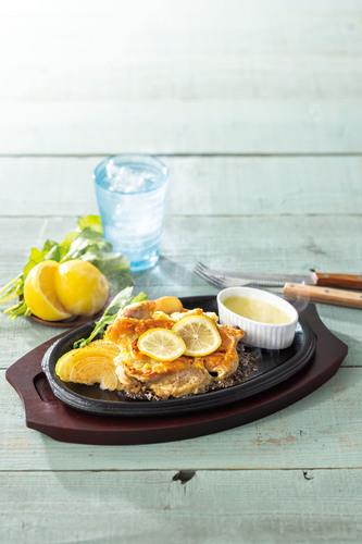 レモンチキンステーキ