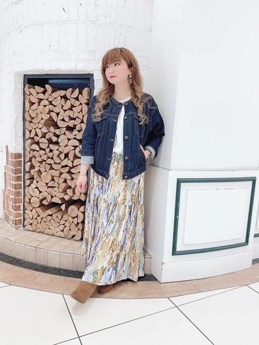 ☆ニュアンスカラースカート☆