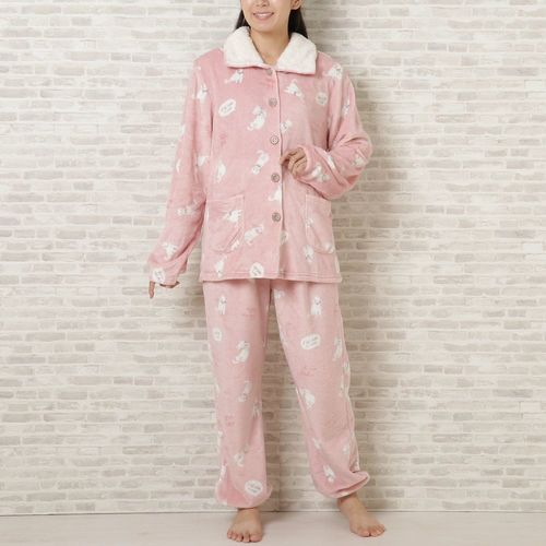 【NEW】アニマルフランネル前開きパジャマ